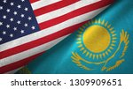 united states and kazakhstan... | Shutterstock . vector #1309909651