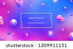 modern abstract background with ... | Shutterstock .eps vector #1309911151