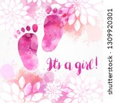It's A Girl  Baby Gender...