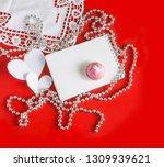 valentine's day vintage... | Shutterstock . vector #1309939621