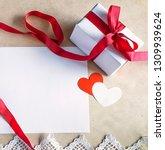 valentine's day  romantic... | Shutterstock . vector #1309939624