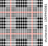 check fashion seamless pattern. ...   Shutterstock .eps vector #1309945081