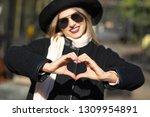 lifestyle shot  cool blonde... | Shutterstock . vector #1309954891