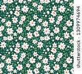 simple cute pattern in small... | Shutterstock .eps vector #1309974694