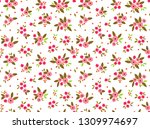 simple cute pattern in small... | Shutterstock .eps vector #1309974697