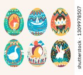 Easter Festival Painted Eggs...