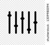 equalizer  slider icon
