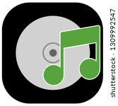 music cd icon   sound music...   Shutterstock . vector #1309992547