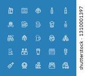 editable 25 pint icons for web...   Shutterstock .eps vector #1310001397