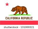 vector flag of the united... | Shutterstock .eps vector #131000321