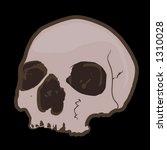 skull | Shutterstock .eps vector #1310028