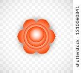 sacral chakra svadhisthana in... | Shutterstock .eps vector #1310060341