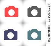 camera  vector icon   Shutterstock .eps vector #1310071294