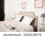 still life view of a home... | Shutterstock . vector #1310128174