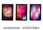 gradient colorful cover... | Shutterstock .eps vector #1310131861