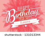 Birthday Template Vector...