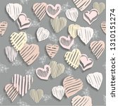abstract pattern on a romantic ... | Shutterstock . vector #1310151274