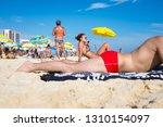 rio de janeiro   february 08 ... | Shutterstock . vector #1310154097