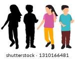 vector  on white background ... | Shutterstock .eps vector #1310166481