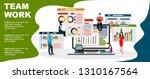 flat design illustration... | Shutterstock .eps vector #1310167564