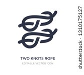 two knots rope icon on white... | Shutterstock .eps vector #1310175127