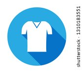 polo shirt icon with long...