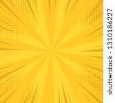 comic pop art background speed... | Shutterstock .eps vector #1310186227