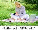 become successful freelancer.... | Shutterstock . vector #1310219857