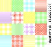 seamless vector ornament ... | Shutterstock .eps vector #1310233024