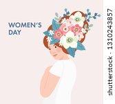 8th march  international women... | Shutterstock .eps vector #1310243857