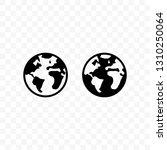 globe vector icon ...