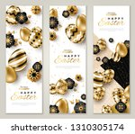 easter vertical banners with... | Shutterstock .eps vector #1310305174