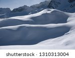 view of the mountains around... | Shutterstock . vector #1310313004