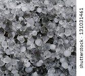 Hail Stones  Hailstorm Frozen...