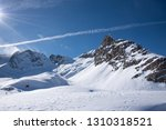 view of the mountains around... | Shutterstock . vector #1310318521
