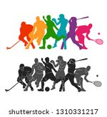 color sport background.... | Shutterstock .eps vector #1310331217