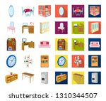furniture and interior cartoon... | Shutterstock .eps vector #1310344507
