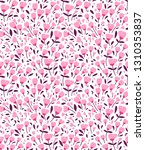 cute floral pattern in the... | Shutterstock .eps vector #1310353837