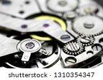 mechanical clock mechanism... | Shutterstock . vector #1310354347