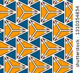 contemporary geometric pattern. ... | Shutterstock .eps vector #1310354854