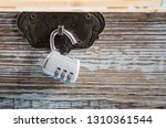 Open Combination Lock On A...