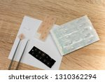 acupuncture needles traditional ... | Shutterstock . vector #1310362294