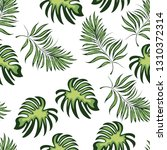 seamless pattern of a tropical...   Shutterstock .eps vector #1310372314