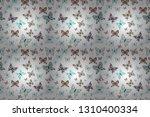 exotic animals. superb... | Shutterstock . vector #1310400334
