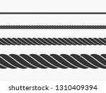 rope icon vector | Shutterstock .eps vector #1310409394