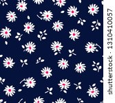 seamless pattern with flowers.... | Shutterstock . vector #1310410057