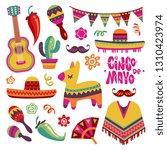 Mexican Fiesta Set. Cinco De...