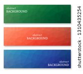 set of three multi colored... | Shutterstock .eps vector #1310435254