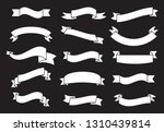 banners and ribbons set... | Shutterstock .eps vector #1310439814