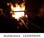 traditional ancient forge... | Shutterstock . vector #1310449654